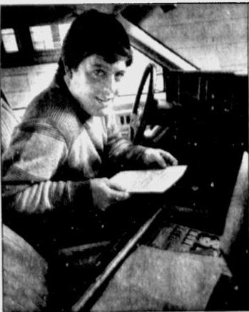 Harvey Kuenn, Jr. seen in a 1990 Milwaukee Journal article about his new role as a pro scout.