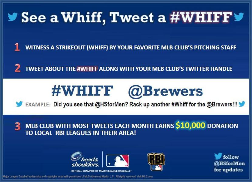 This is Why We're Tweeting @Brewers + #whiff after strikeouts